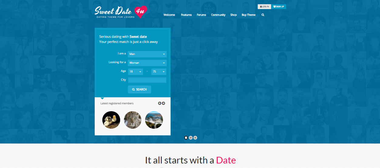 themeforest sweet date v27 more than a wordpress dating theme Installation = themeforest i want someone to install the script etc on my wordpress.