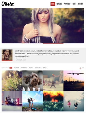 Tesla Theme – Premium WordPress Theme