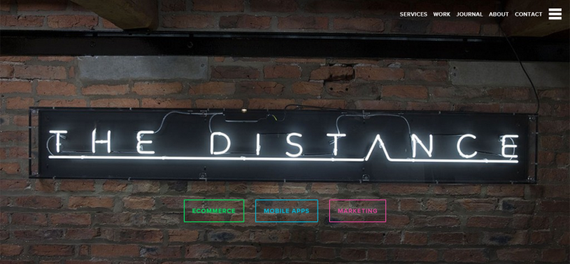 The Distance   Creative Digital Agency