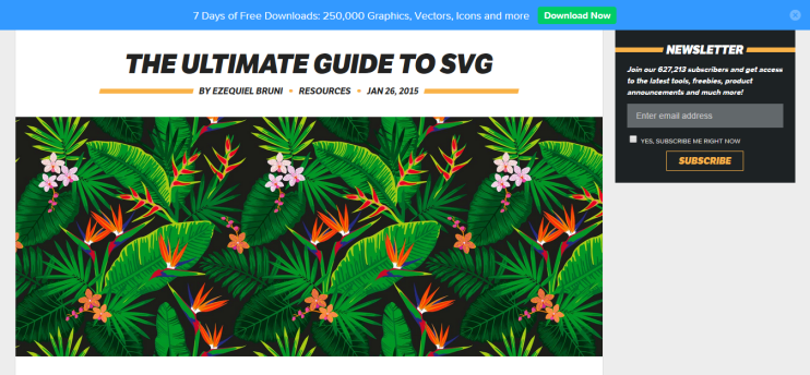 The ultimate guide to SVG   Webdesigner Depot