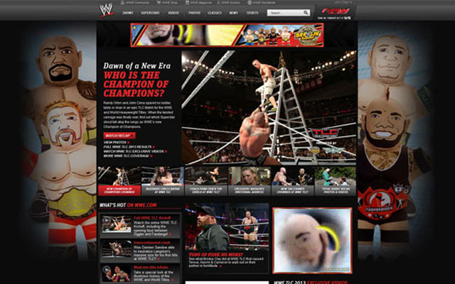 WWE-Official-Website