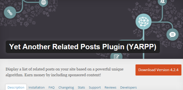 WordPress › Yet Another Related Posts Plugin YARPP « WordPress Plugins