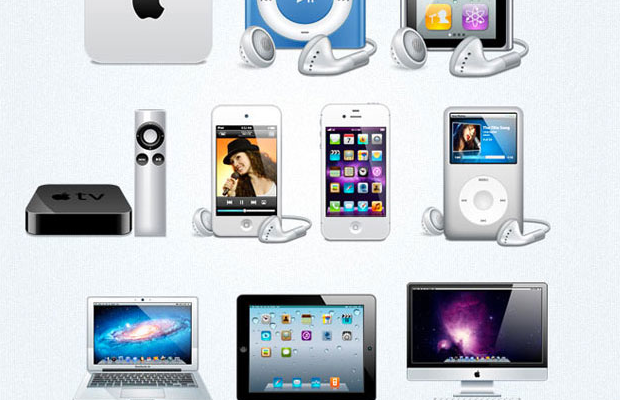 freebie apple devices icons pack download
