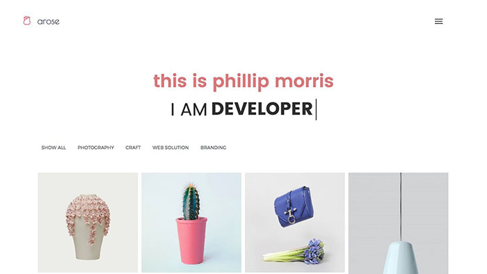 arose bootstrap themes 2017
