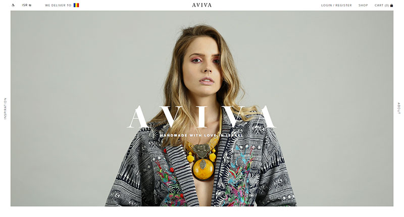 creative website showcase aviva