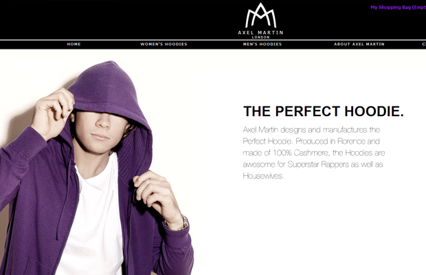 axel martin website black white simple coding job