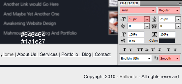 Brilliant Layout In Photoshop