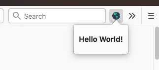 build a firefox extension