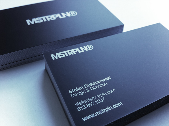 MSTRPLN Business Card 2010