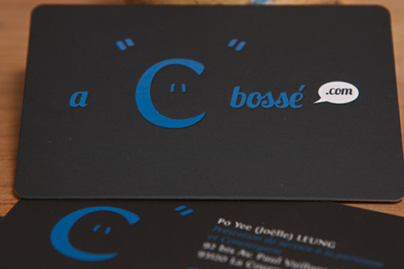 Simple Business Card for A C Bossé