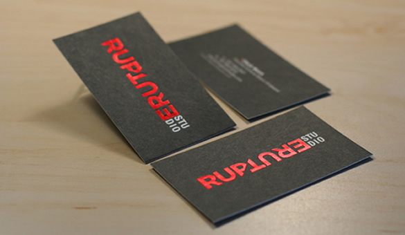 Rupture Studio Business Card