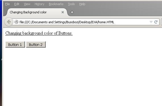 How to Change the Background Color of a Button on Mouse