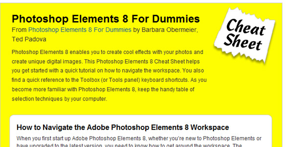 Photoshop Elements8 For Dummies