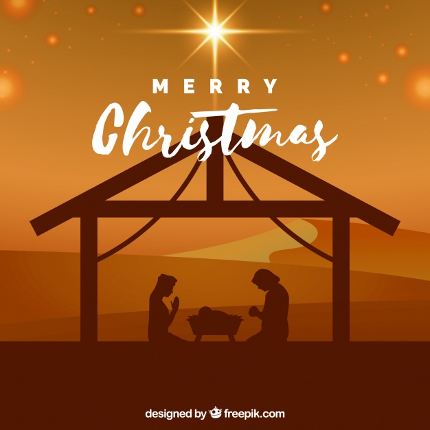 nativity scene design background