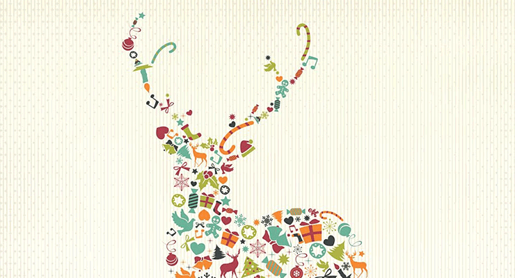 33 Winter and Christmas Design Elements for the Holiday Season