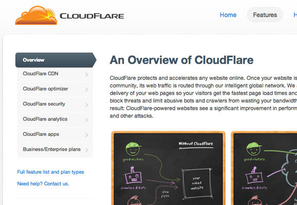 cloudflare-homepage-features-website