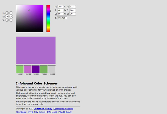 Infohound Color Schemer