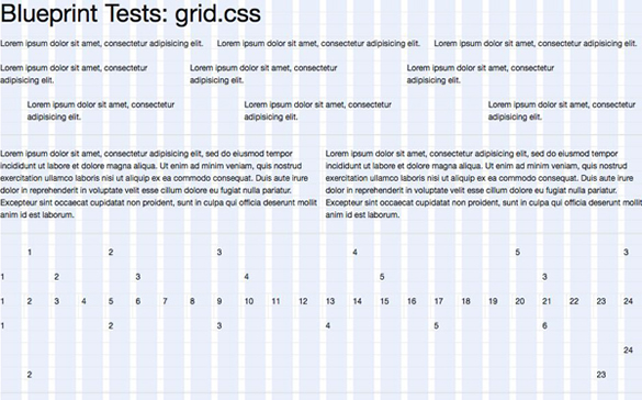 10 really outstanding and useful css grid systems spyrestudios blueprint css grid system malvernweather Images