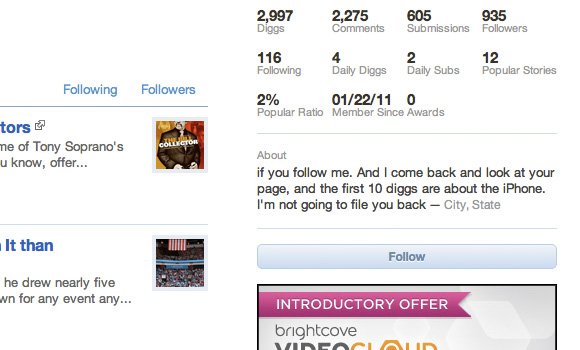 Digg follow button for v4 layout