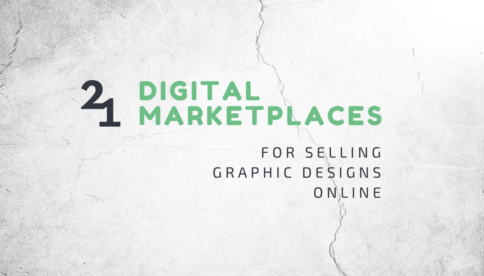 The best digital marketplaces to sell graphic designs online 4 selling design