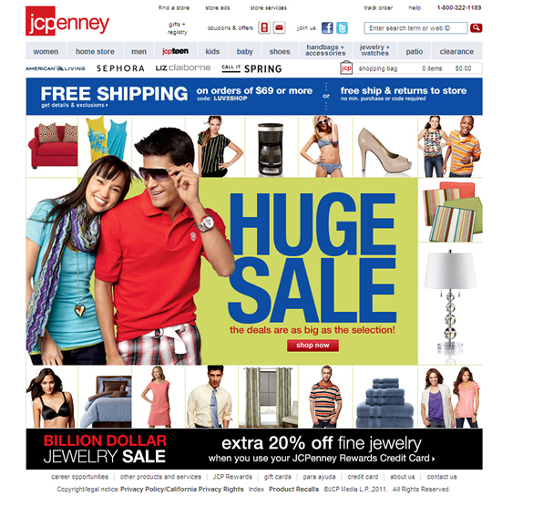 JCPenney Call To Action