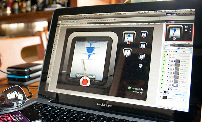 adobe photoshop icon design progress by ney ricardo