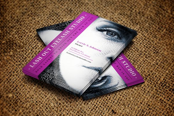 Design a Cool Text Portrait Effect for Your Business Card