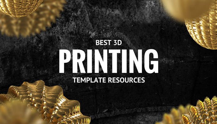 3D printing template resources