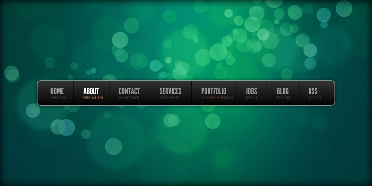 How To Create A Slick Navigation Bar In Adobe Fireworks