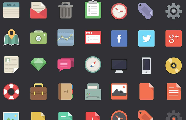 flat icons designer pack download wdd