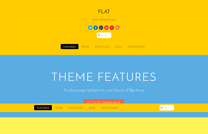 one-page wordpress themes