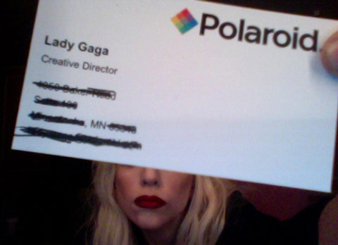 Top 10 famous business cards spyrestudios there was a time when even lady gaga needed her own business card a plain and simple one that clearly demonstrates her singing profession colourmoves