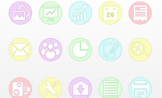 freebie business icons dribbble