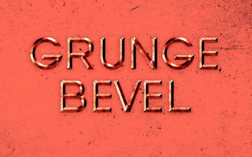 Bevel Text effect