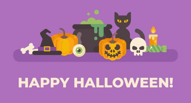 27 Spooky Halloween Design Elements For Scary Designs