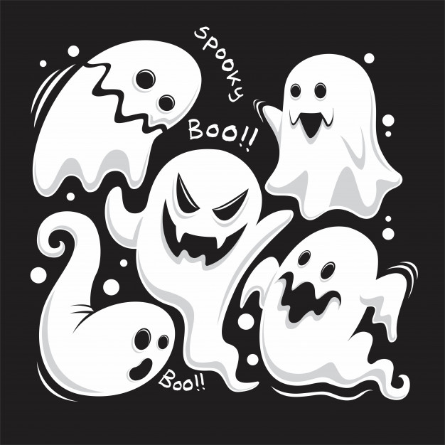 ghost design halloween