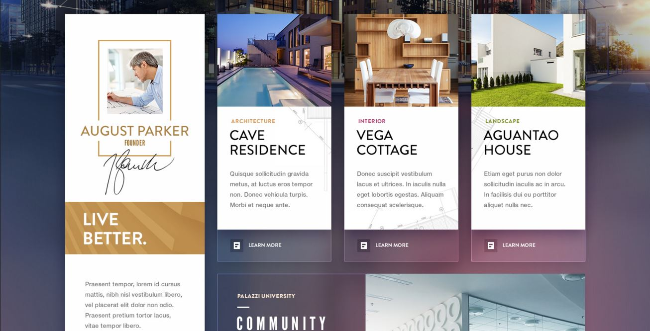 Corporate web design examples for inspiration