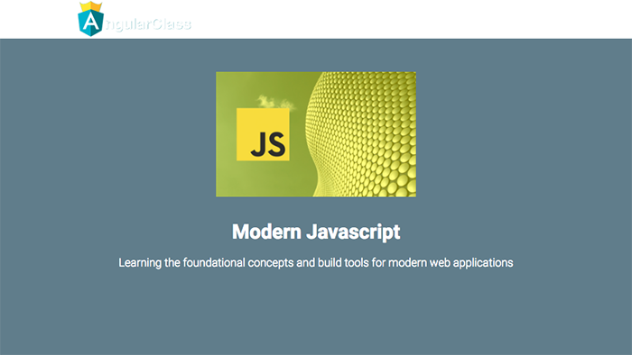 learn web development modern javascript angular