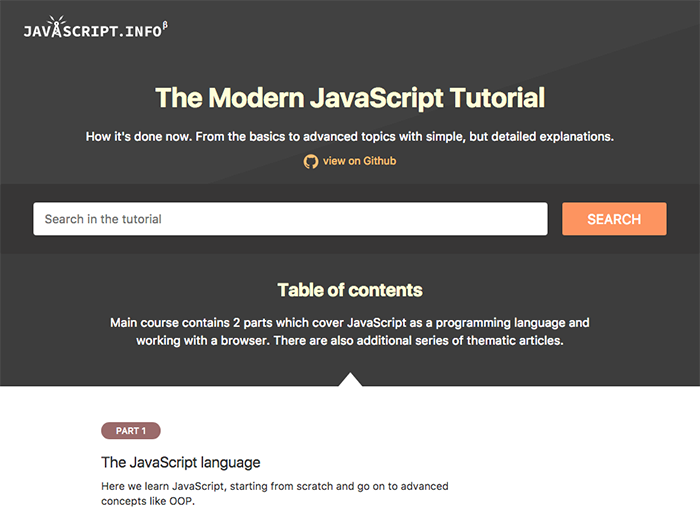 learn web development modern javascript tutorial