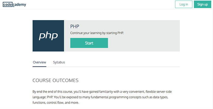 learn web development php codecademy