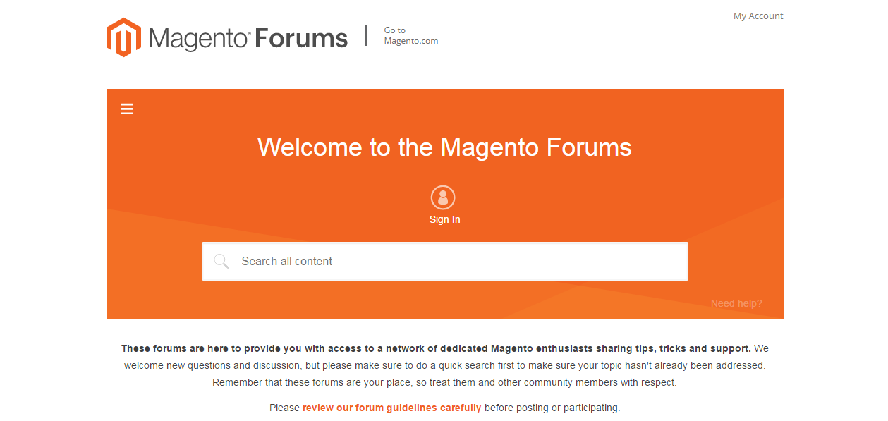 magento resources