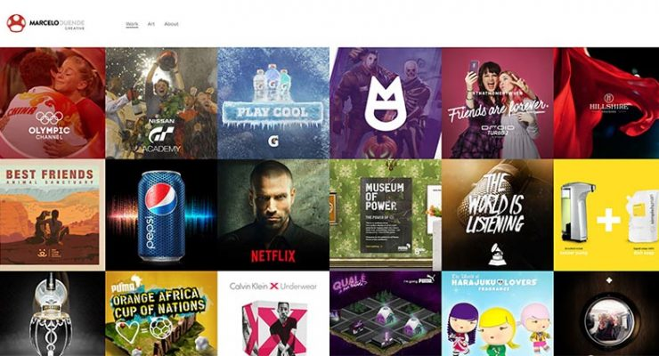 A Collection of 20 Well-Designed Portfolio Sites