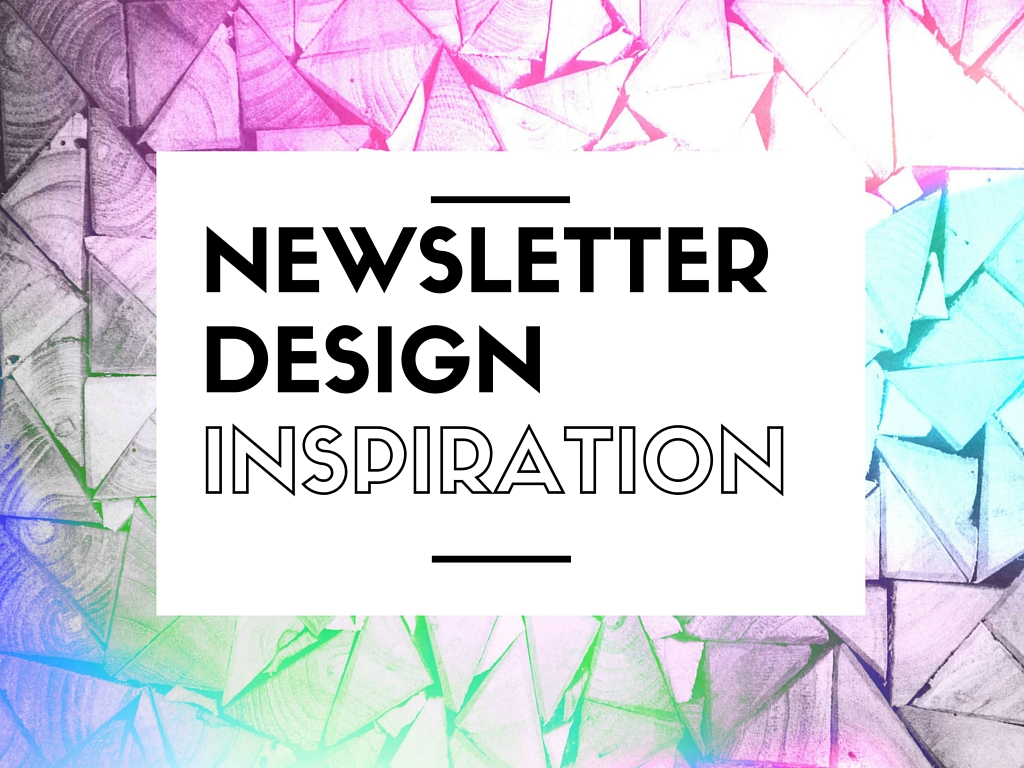Newsletter design examples