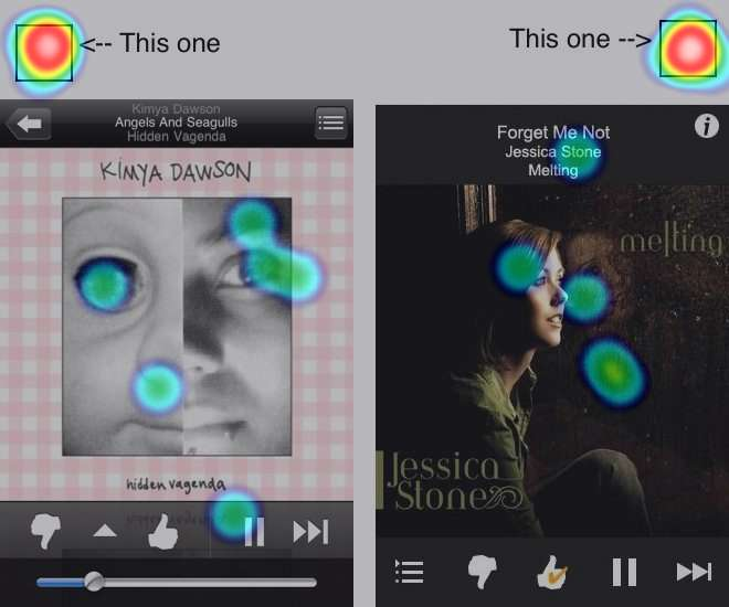 Pandora - Android vs iOS preference test