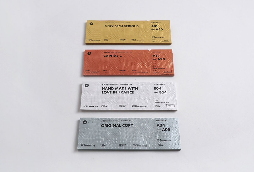 Patchwork tickets