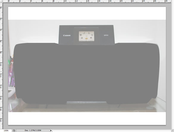 Printer Photoshop Tutorial