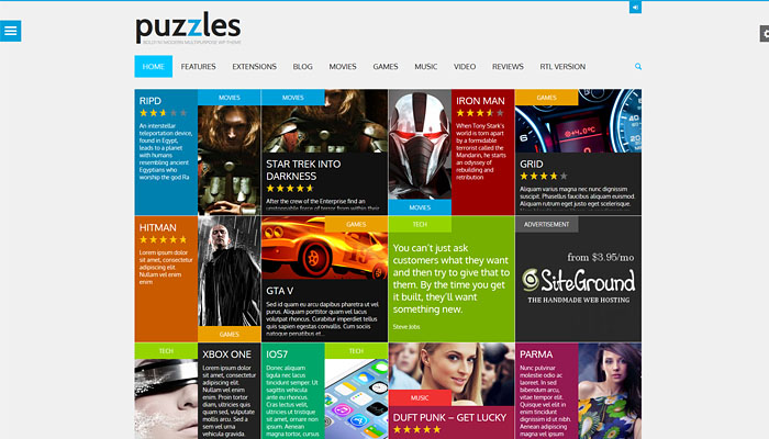 20 WordPress Themes for Gaming Websites
