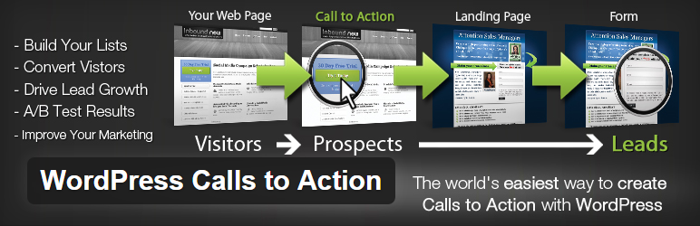 WordPress Calls to Action - Essential WordPress Plugins to Make the Designer's Life Easier