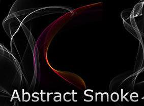 Abstract Smoke Brushes