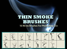 Thin Smoke Brushes